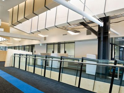 An inside view of the Deakin University AFFRIC, project by Insulpak